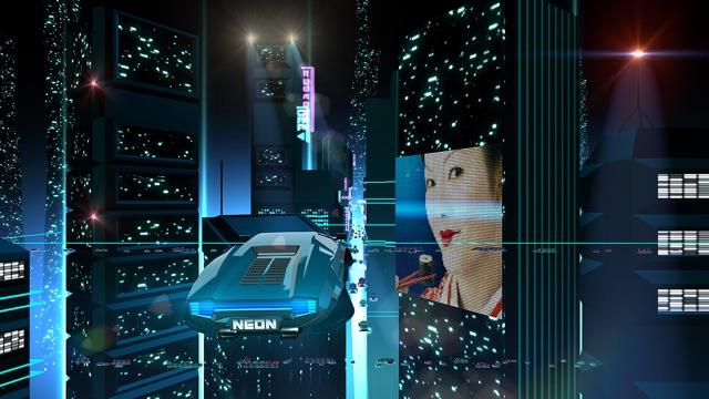 Neon Drive - '80s style arcade Screenshot