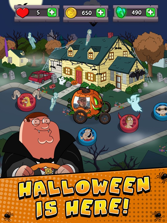 Screenshots of Family Guy- Another Freakin' Mobile Game for iPad