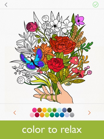 Colorfy: Coloring Book & Arts screenshot 1