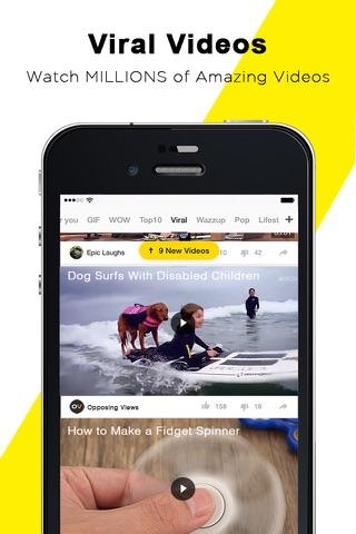 TopBuzz Video: Videos、TV shows screenshot 1
