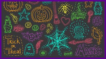 Стикеры Хэллоуин для imessageСкриншоты 2