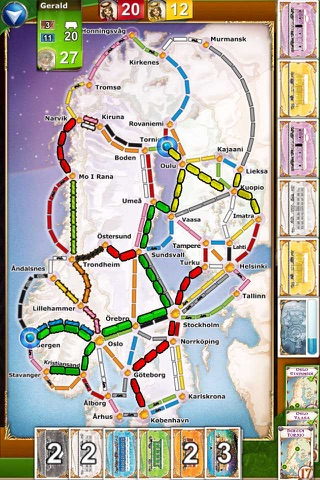 Ticket to Ride screenshot 3