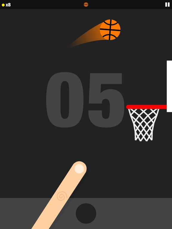 Screenshot 3 Flick Dunk