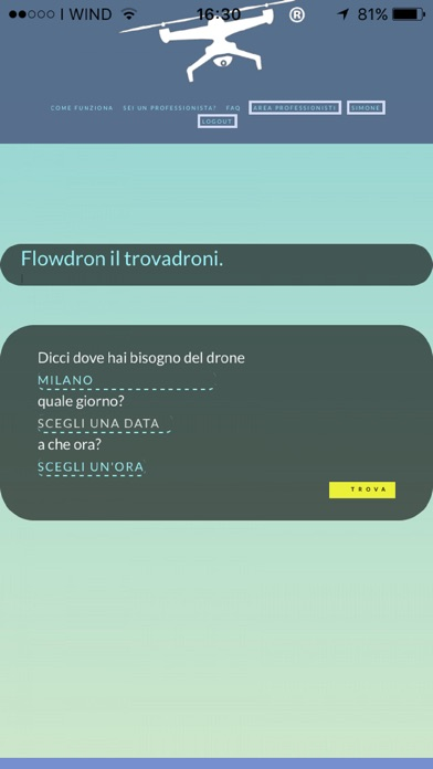 Screenshot of Flowdron 4U1