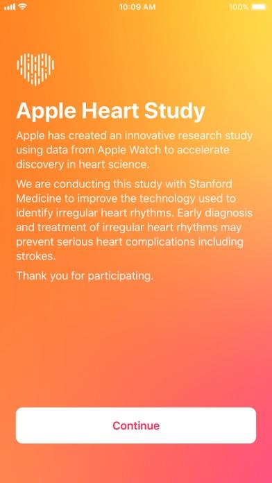 Apple Heart Study screenshot 1