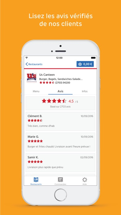 download Just Eat (Allo Resto) apps 1