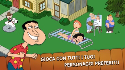 Screenshot of Family Guy The Quest for Stuff2