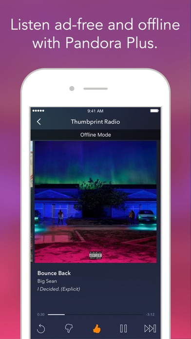 Screenshot of Pandora - Music & Radio App
