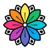 点触 &上色 - 成人 着色书, 彩色 游戏