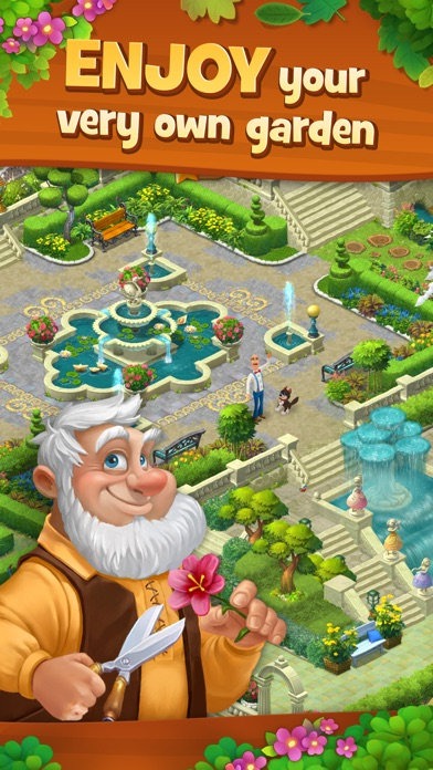 Screenshot of Gardenscapes App