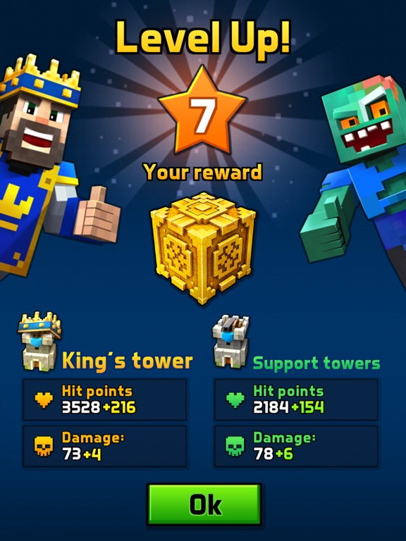 Игра Great Royale Wars - Clash of Block