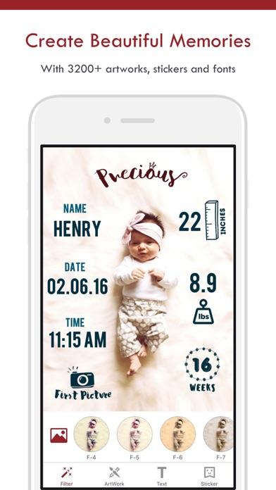 download BabyPic - Fotos del bebé apps 2