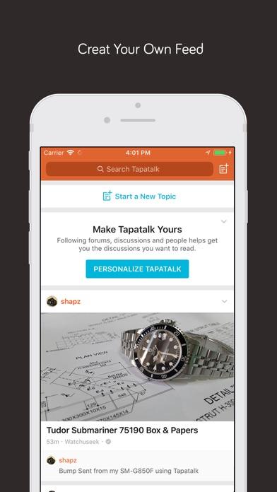 Tapatalk Pro Screenshots