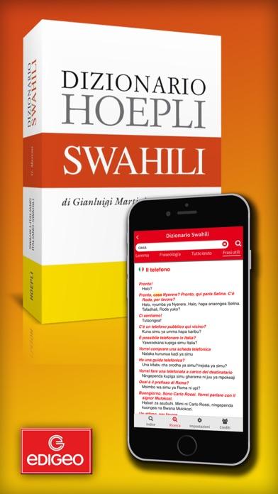 Screenshot of Dizionario Swahili Hoepli1