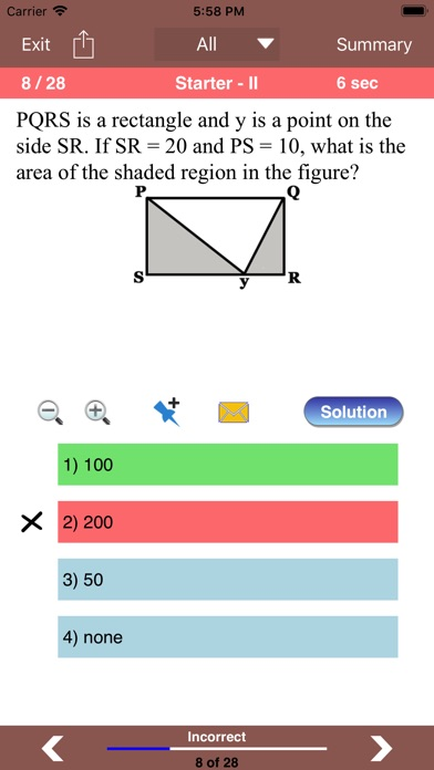 Word Problems for GRE® Math Screenshots