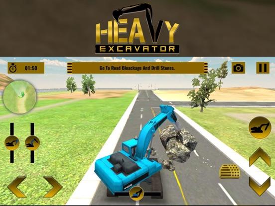 Экскаватор-симулятор - город строитель Скриншоты6