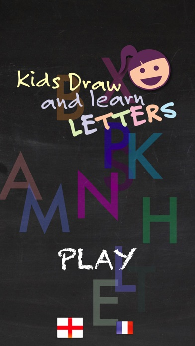 Kids Draw Letters screenshot 1