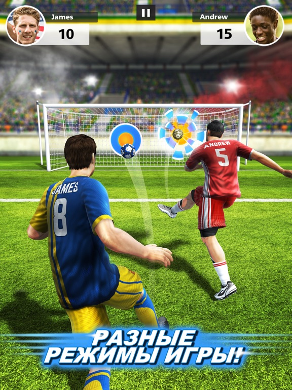 Football Strike - Multiplayer Soccer Скриншоты8