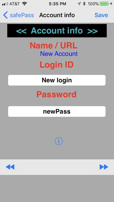 safePass Screenshot