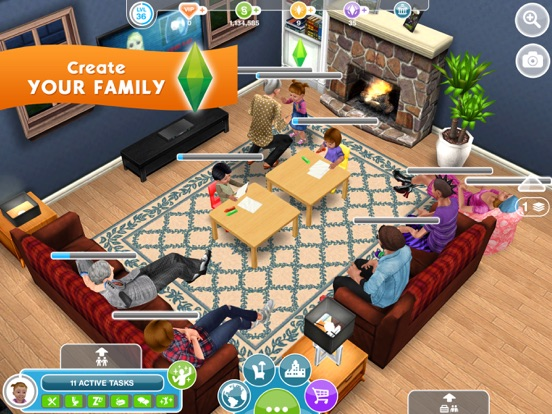 Screenshot #4 for The Sims™ FreePlay