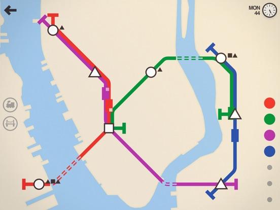 Screenshot #1 for Mini Metro