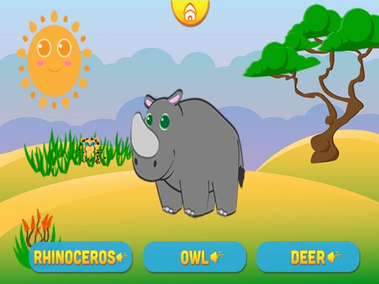 Screenshots of Funny Animals for baby and preschool toddler - Play and learn for iPad