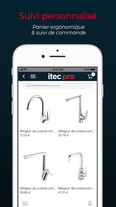 ITEC PROCapture d'écran de 4