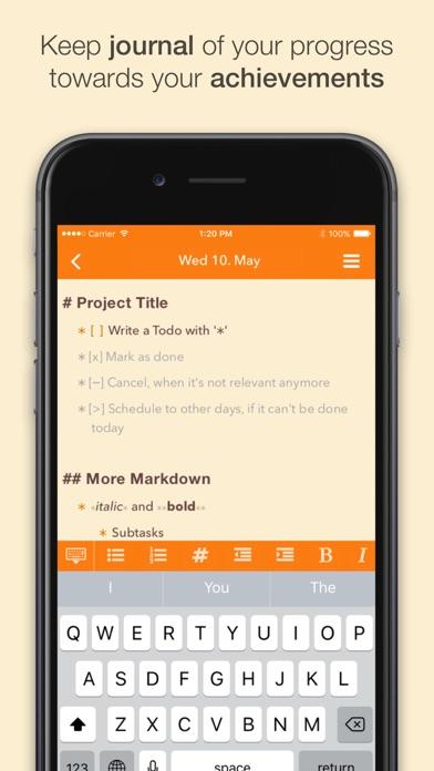 NotePlan: Markdown Todo-List, Notes and Calendar Screenshot 2