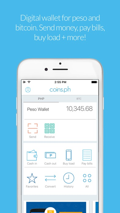 Coinsph Load Bills Bitcoin On The App Store