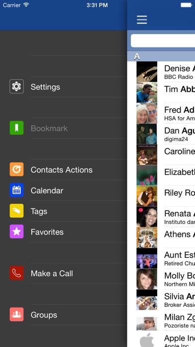 ContactsTap Screenshots