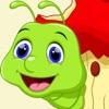 Земляной Червяк Змейка - Голодная змея ест шарики