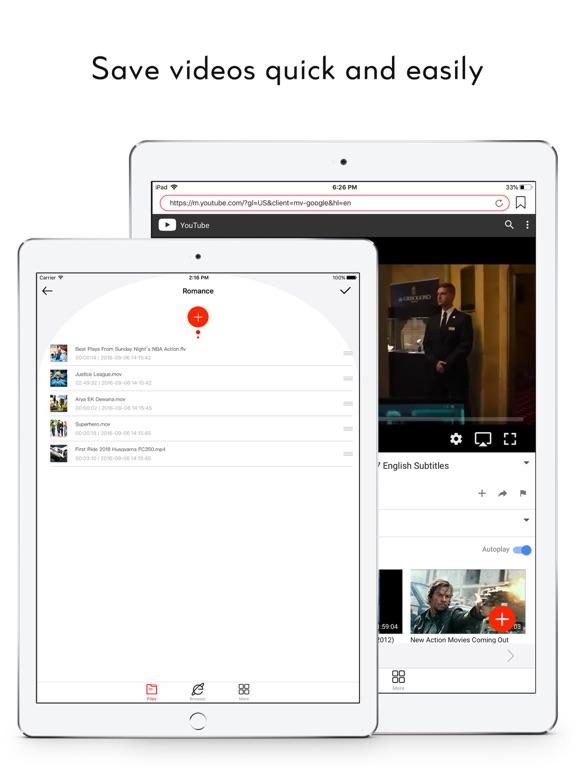 сохранить видео - видео плеер Скриншоты6