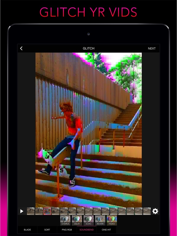Screenshot #3 for Glitch Wizard - Distort Photos to Trippy GIFs