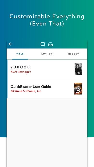 QuickReader Lite Скриншоты5