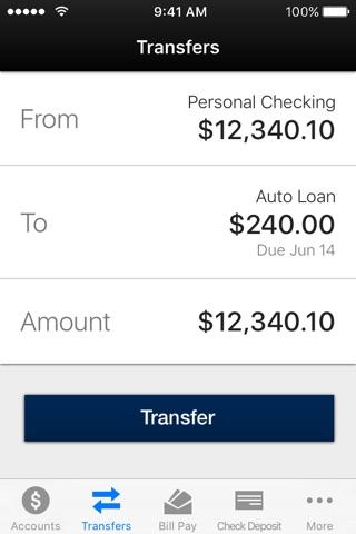 Sun National Bank Mobile Banking screenshot 2