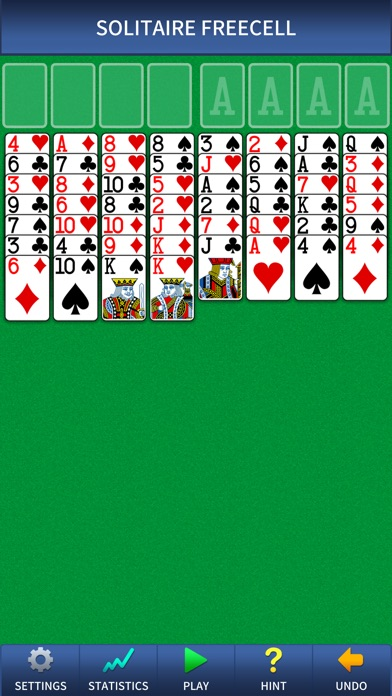 Freecell Solitaire Pro. Screenshot