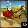 Impossible Horse Cart Driving