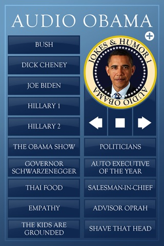 Audio Obama - soundboard screenshot 3