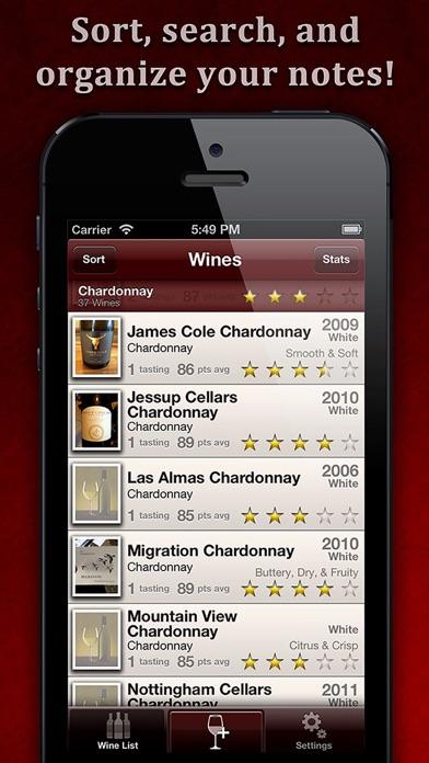 WineAlbum - Wine Tasting Notes Скриншоты5