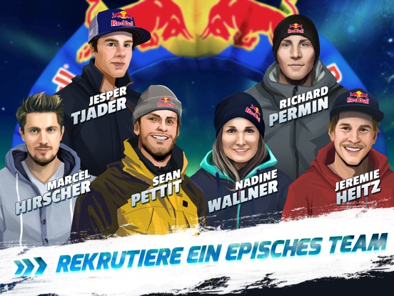 Screenshot 3 Red Bull Free Skiing