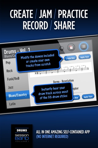 SessionBand Drums 1 screenshot 4