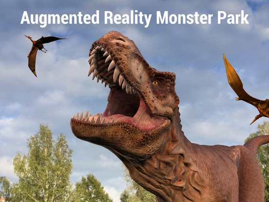 All-New Augmented Reality Monster Park Designed Exclusively for iOS 11 Image