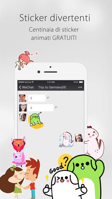 Screenshot of WeChat5