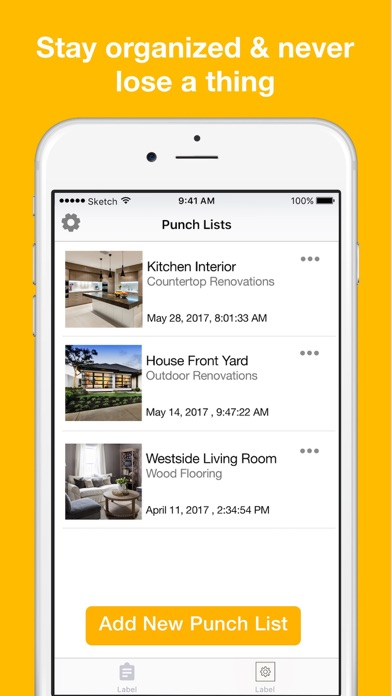 Punchlist  Make Simple Punchlists On The App Store