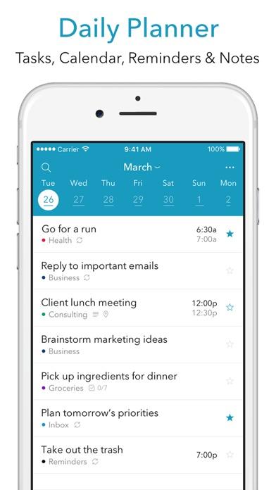 Summit Day Planner Screenshot on iOS
