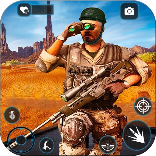 Frontline Modern Combat Sniper