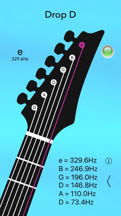 electric guitar tuner lite app report on mobile action. Black Bedroom Furniture Sets. Home Design Ideas