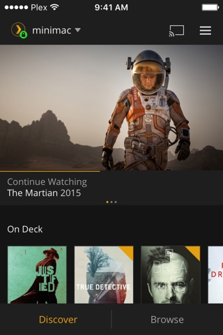 Plex screenshot 1