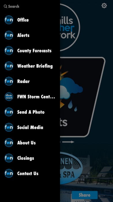 The Foothills Weather NetworkScreenshot of 2