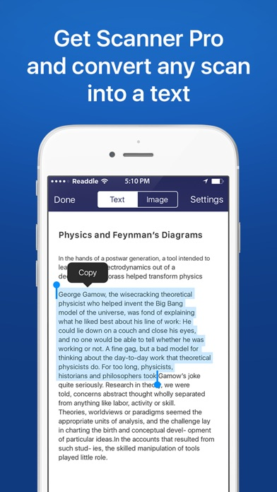 Scanner Pro by Readdle Screenshots